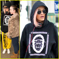 Rita Ora: Back To Manchester For 'The Voice'!